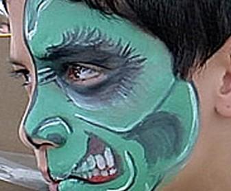 ציורי פנים מורכבים
