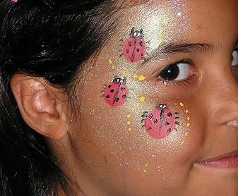 ציורי פנים חיפושיות