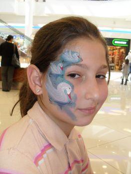 ציורי פנים ברבורים