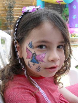 ציורי פנים נסיכה