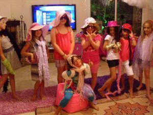 ספא ילדות- תצוגת אופנה