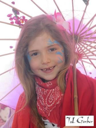 ספא לילדות- ציורי פנים