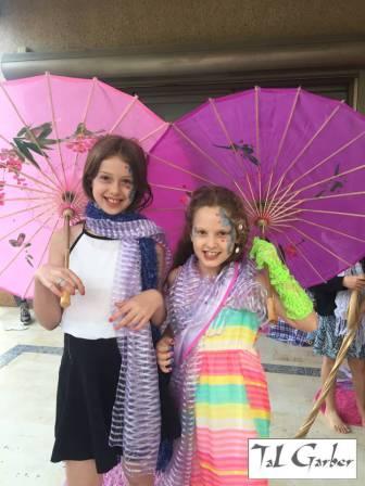 ספא לילדות - תצוגת אופנה