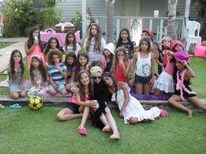 ספא לילדות- תמונה קבוצתית