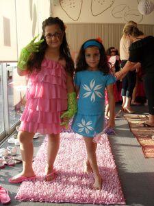 ספא לילדות- תצוגת אופנה
