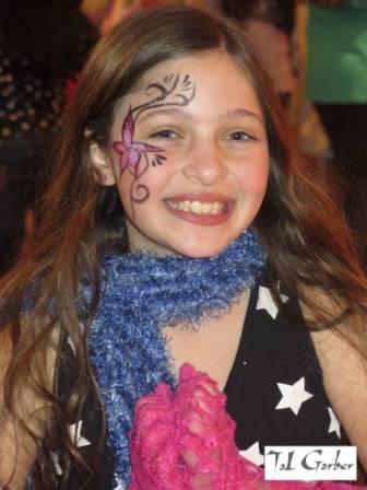 ספא לילדות - ציורי פנים