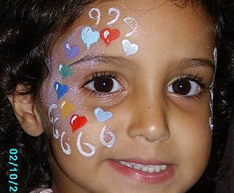 ציורי פנים לבבוצ